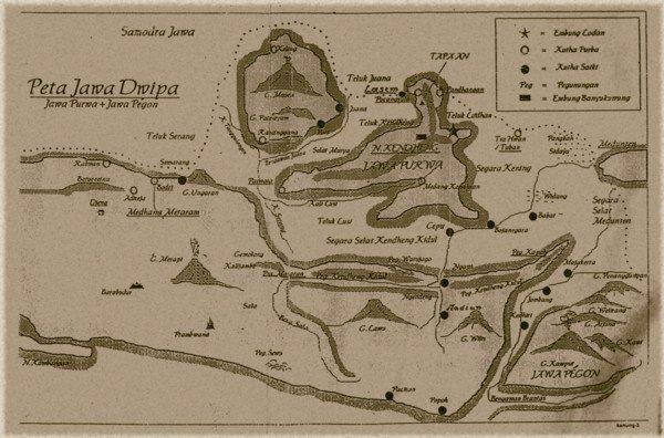 Peta Jawa Dwipa