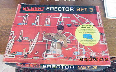 The Erector Set... made SO many things with this set!!