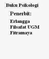 Buku Psikologi Penerbit Erlangga, Filsafat UGM, Fitramaya