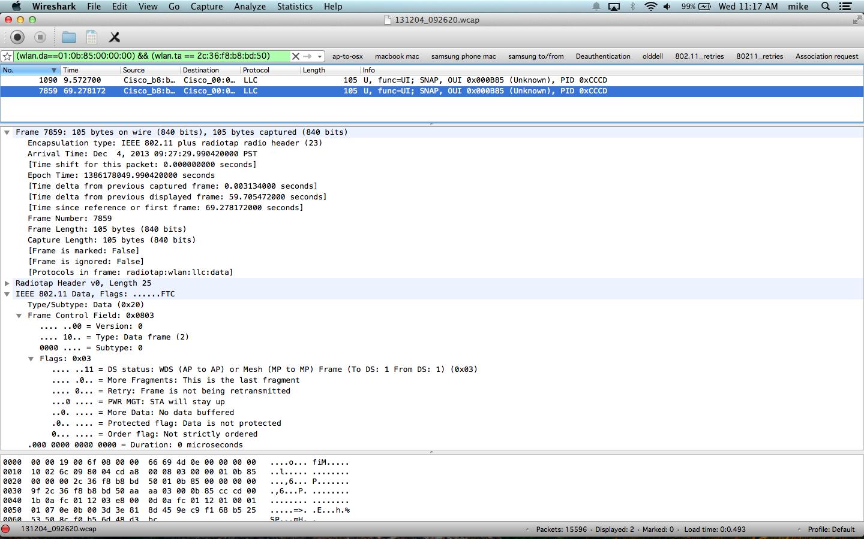 order data frame