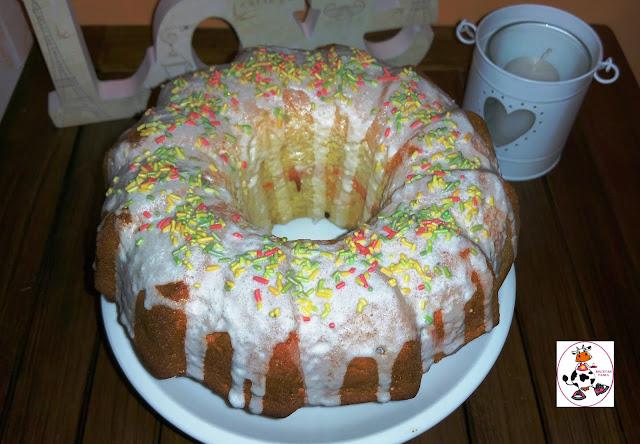 Cake De Limón Con Glaseado En Thermomix