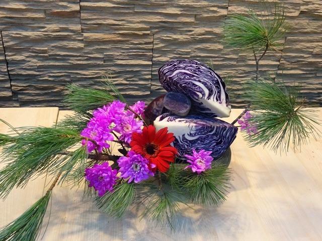 новогодняя выставка икебаны южно-сахалинск 2015