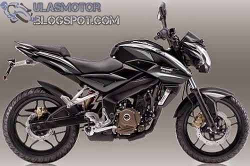 Kawasaki Bajaj Pulsar 200 NS Hitam