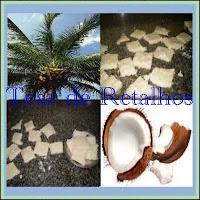 No coco, além da polpa, com a qual conseguimos fazer essa deliciosa cocada, encontramos também a água-de-coco, fonte de sais minerais refrescante