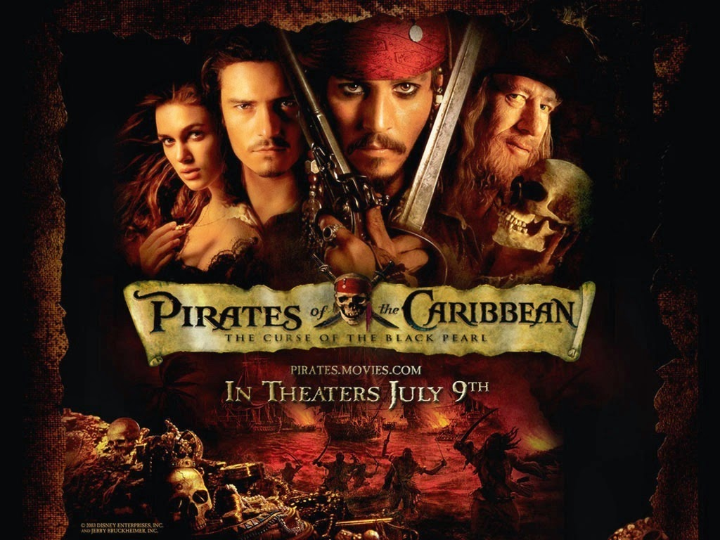 Pirates Of The Caribbean: The Curse Of The Black Pearl BRRip 720p ( 2003 ).