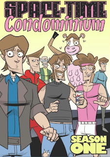 Cover of Space-Time Condominium Season One from Action Lab Entertainment