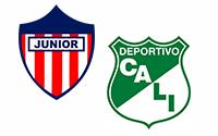 Atlético Junior vs Deportivo Cali