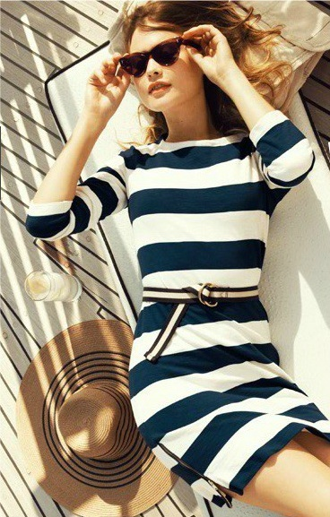It's Cool to Wear Stripes This Way 4