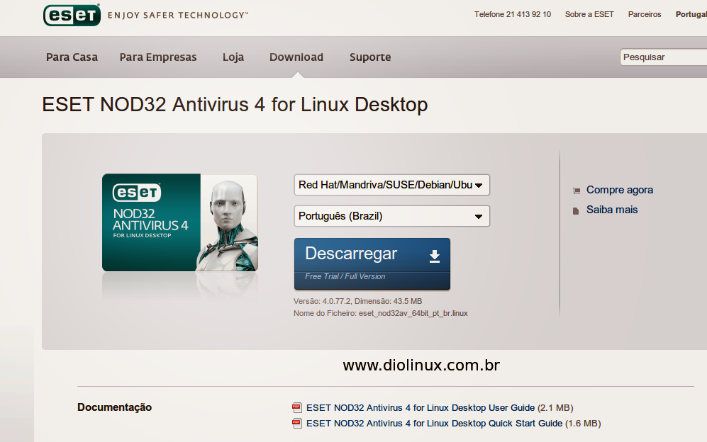 NOD32 para Linux