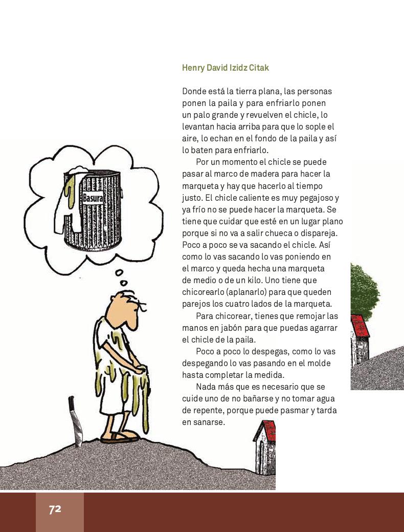 El chicle - Español Lecturas 4to 2014-2015