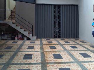 Material dan Bahan Lantai Carport