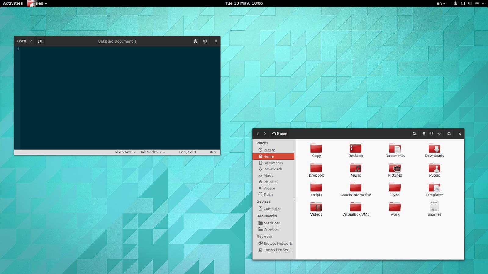 GNOME 3.12 Ubuntu 14.04