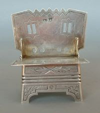 Silver salt throne - Russia