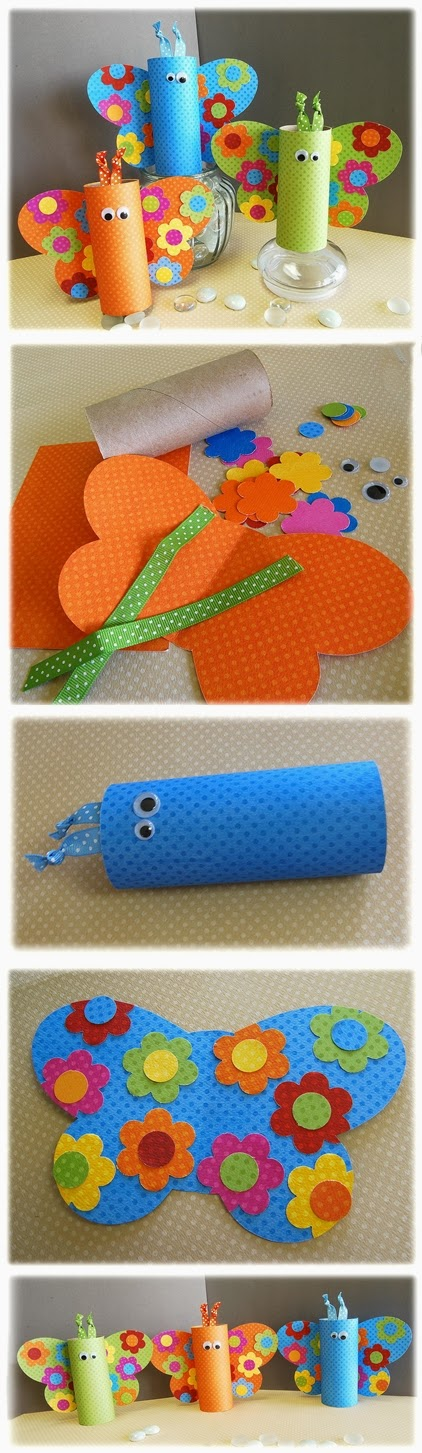7 toilet paper roll crafts for kids diy craft projects for Paper roll projects