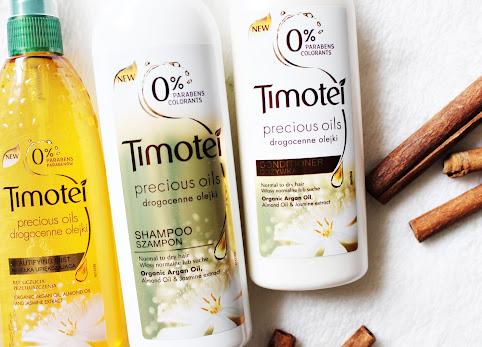 Kosmetyki do włosów z drogocennymi olejkami - Timotei