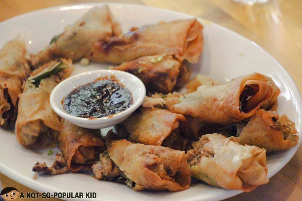 Crispy Panara Rolls + Tokwa't Baboy Sauce - SARSA