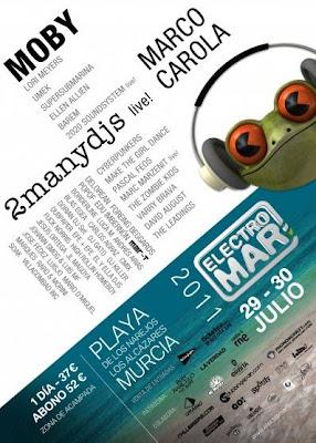 cartel electromar festival murcia