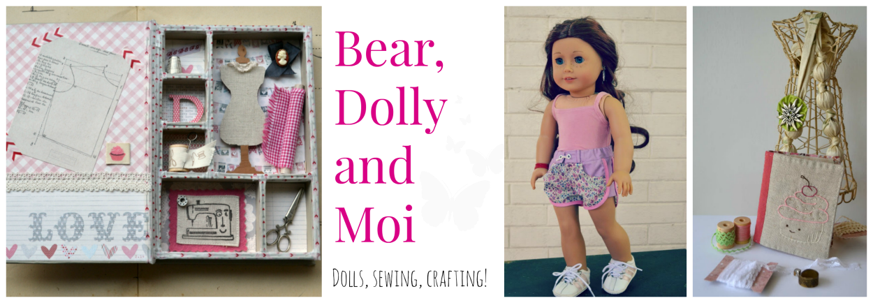 Bear, Dolly and Moi