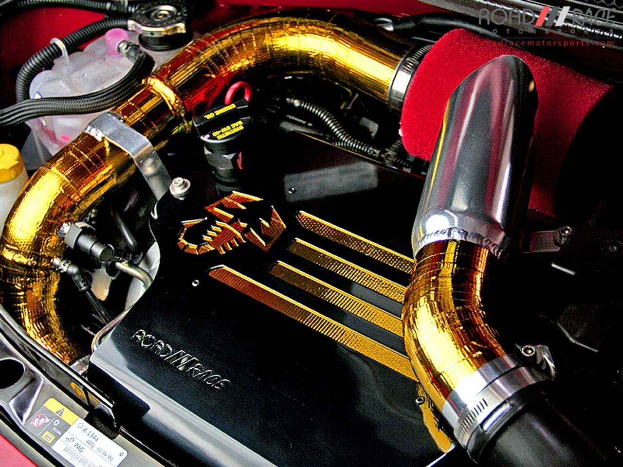 Road Race Motorsports turbo Abarth engine
