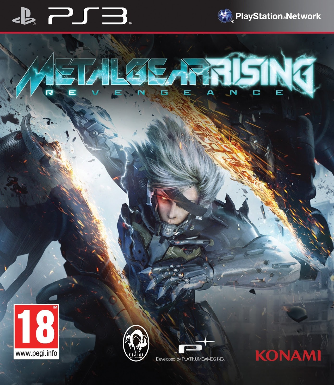 17 ago 2013   Categorias  A  231   227 o e Aventura   PS3   319 ComentariosMetal Gear Rising Revengeance Cover Ps3