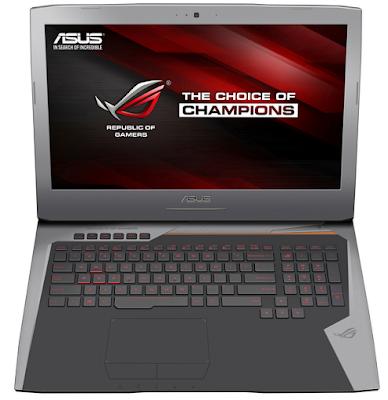 Asus ROG G752  laptop