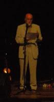 Manoel Soto na homenaxe a Celso Emilio Ferreiro en Vigo
