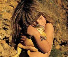 Creí ser una princesa de un cuento acompañada de un sapo