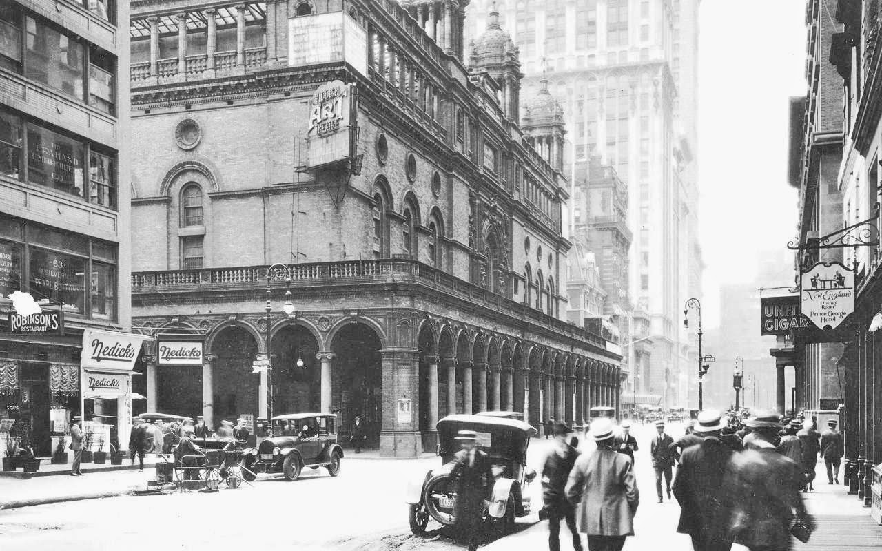 T c c madison square garden nyc 1920s - How old is madison square garden ...