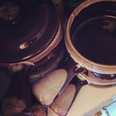 Rummage Sale soup bowls
