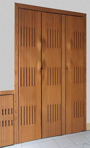 Fotos y dise os de puertas puertas de closets for Disenos de puertas de madera para closets