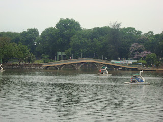 Retiro Park in Hanoi (Vietnam)