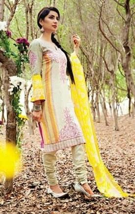 Amna Ismail Semi-Stitched Lawn Suits