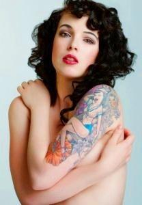 tatuajes sexys para mujeres en los hombros