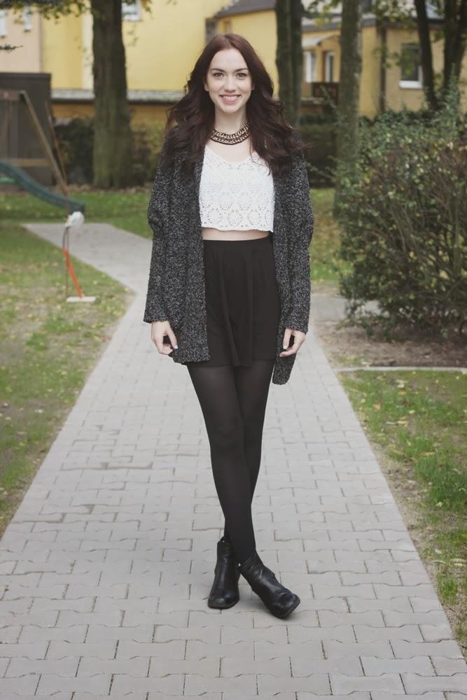 OOTD: Croptop + Skirt