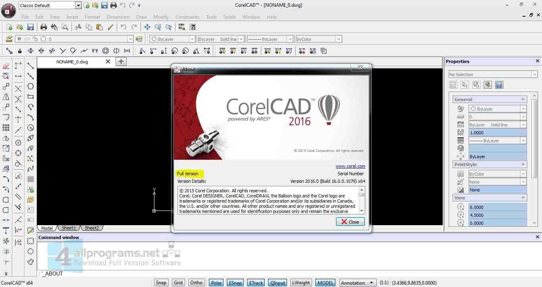 CorelCAD-DRAFTSIGHT 3D L'oramai famoso clone di AutoCAD nella sua versione a pagamento, include la modellazione 3D.