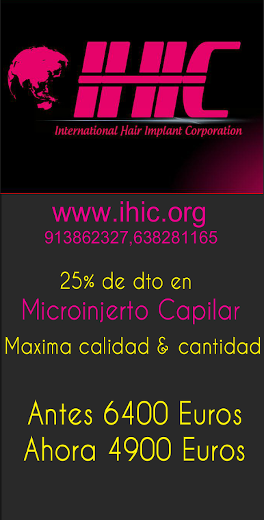 Oferta Microinjerto capilar