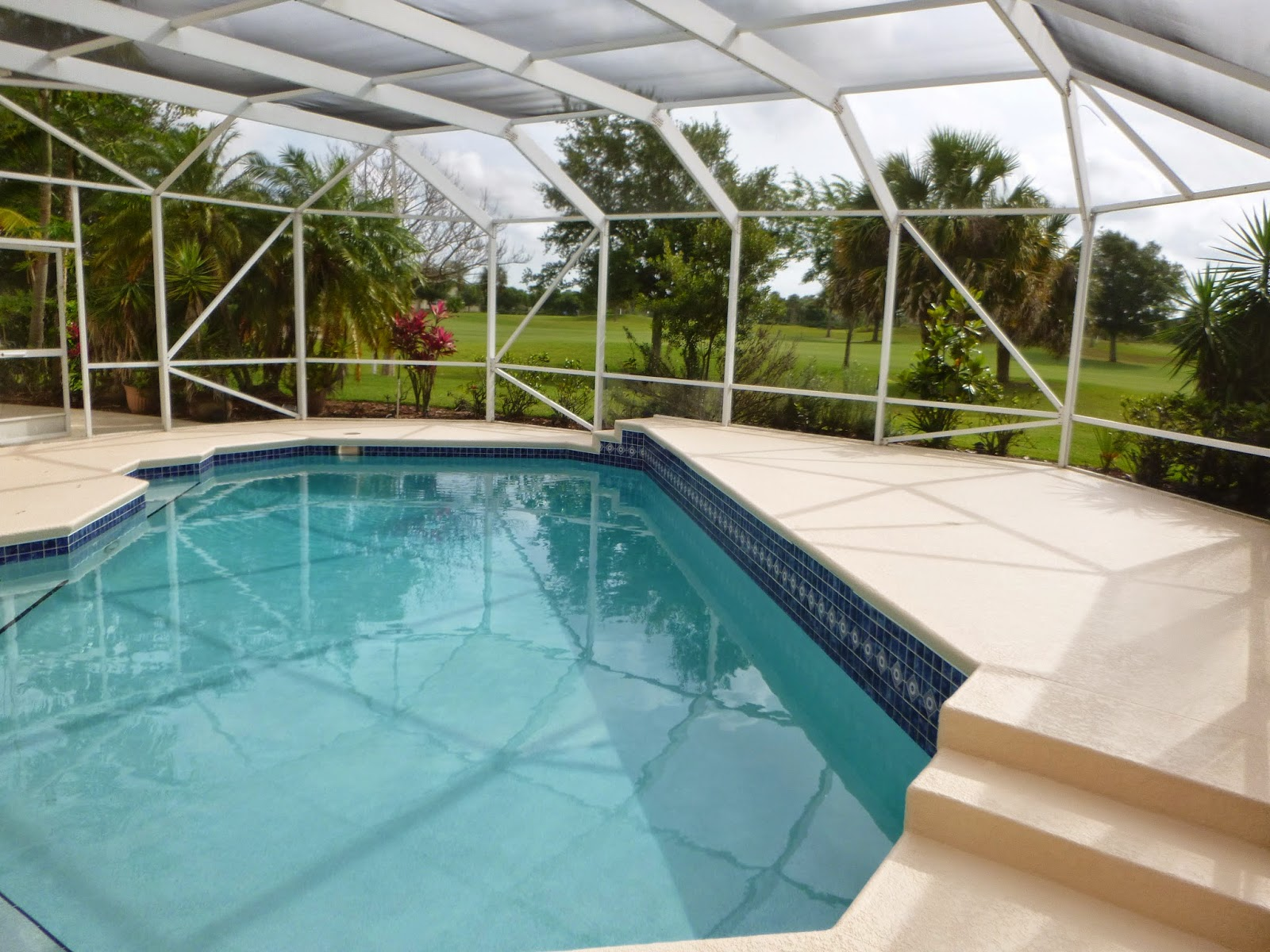 Painting artists corp painting company port st lucie fl for Florida pool and deck