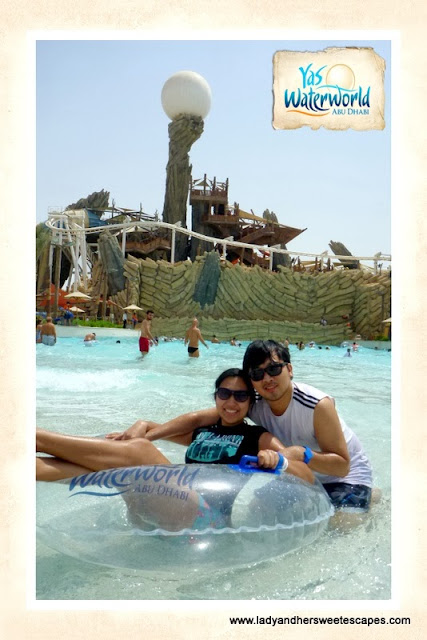 photo taken by Yas Waterworld's official photographer