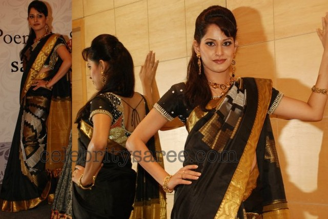 Uppada Saree Beads Silk Blouse