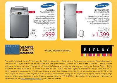 lavadora en ripley 31-5-13