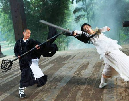 Movie Mania: Jet Li's THE SORCERER AND THE WHITE SNAKE Trailer