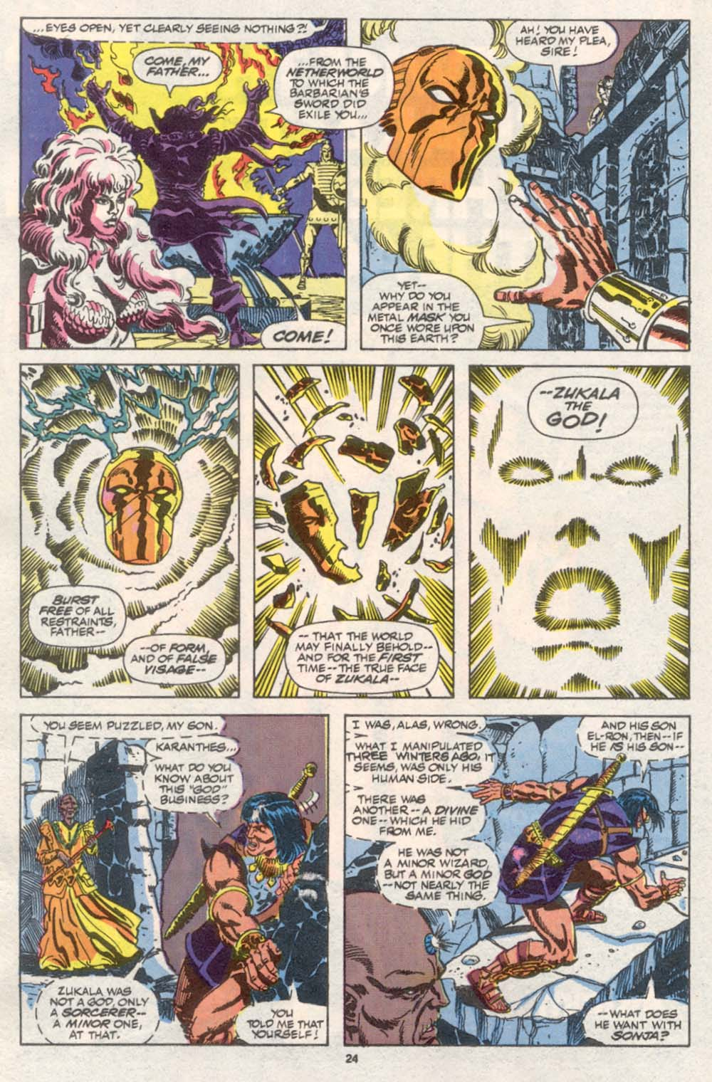 Conan the Barbarian (1970) Issue #242 #254 - English 19