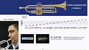 Vídeo Aula de trompeteescala natural para iniciantes