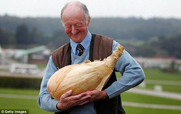 Rekod baru bawang terbesar di dunia