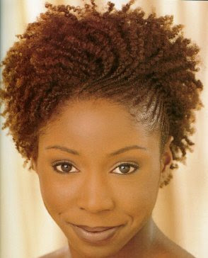 Cornrows with curls for your twa.
