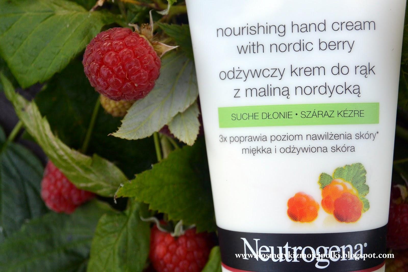 W pogoni za maliną nordycką - krem do rąk Neutrogena