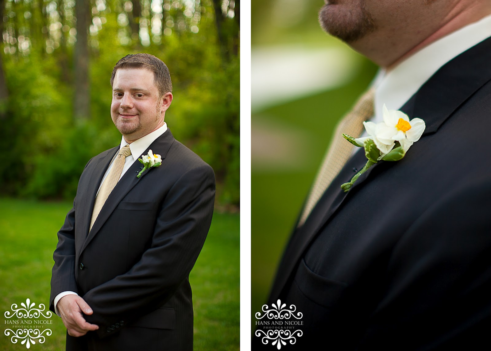 casual portrait at a frederick wedding