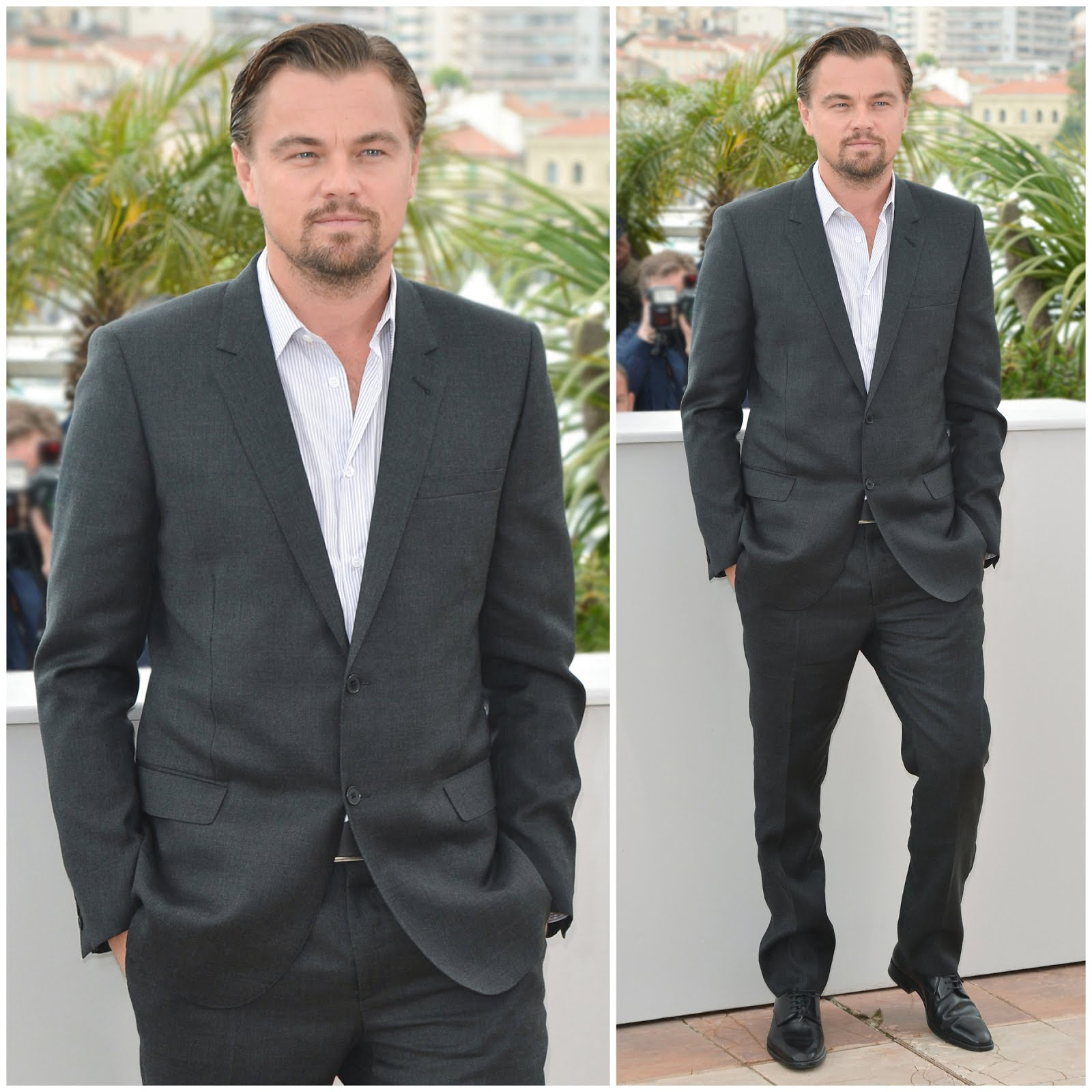 00O00 Menswear Blog: Leonardo DiCaprio in Hedi Slimane Saint Laurent - 'The Great Gatsby' photo call, 66th Cannes Film Festival