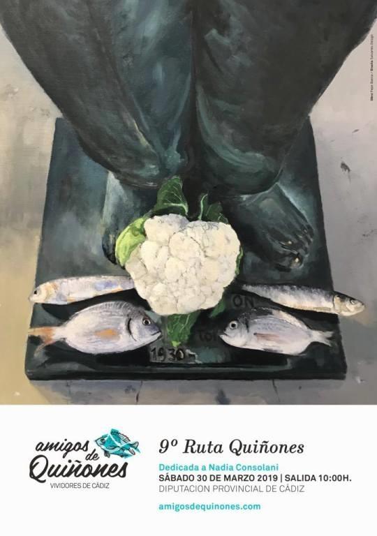 IX Ruta Quiñones. 30 marzo. Cádiz . Diputación. 10 a.m.