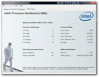 Download Intel Processor Identification Utility